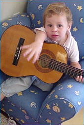 Yoni and Guitar